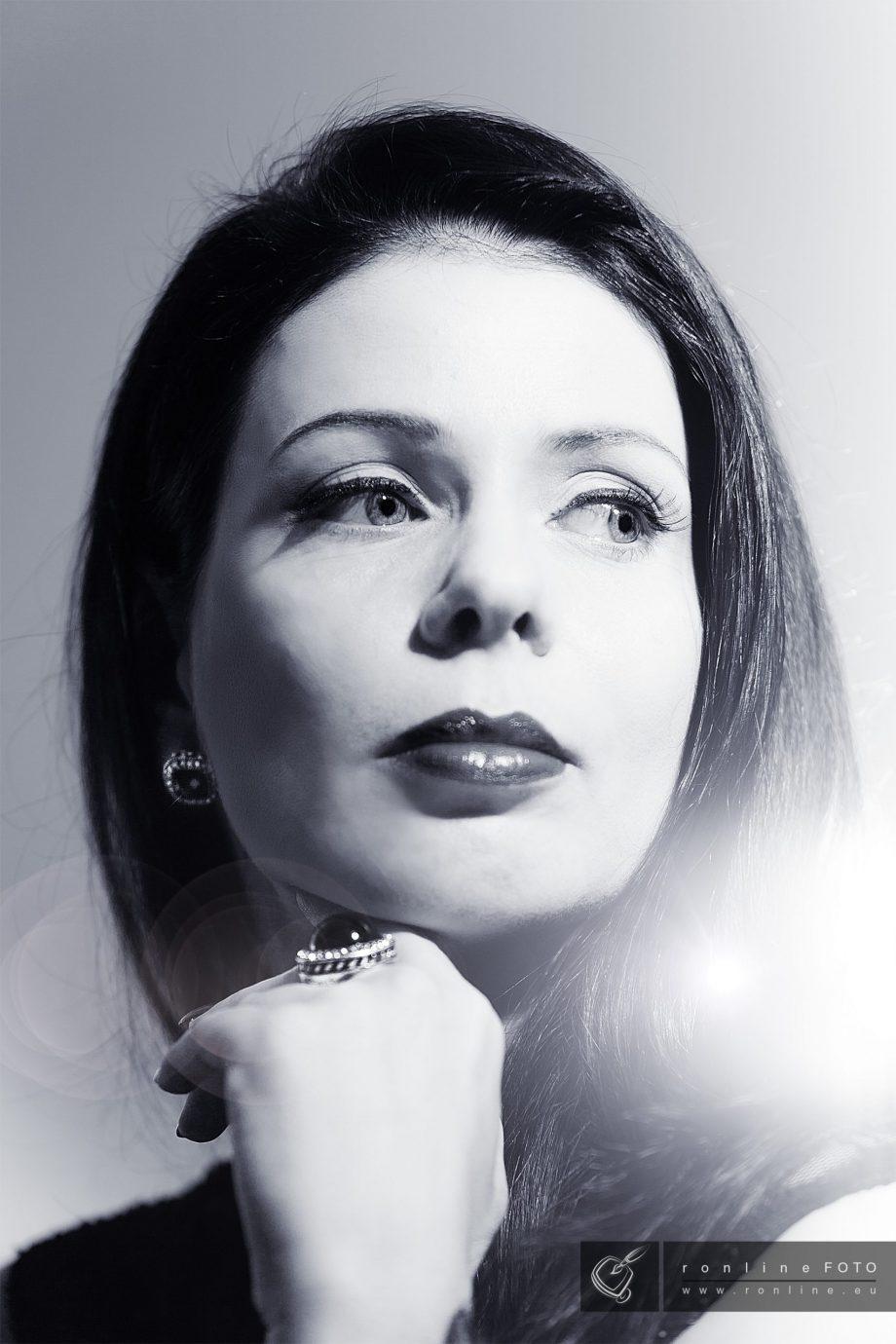 Portrait einer Diva