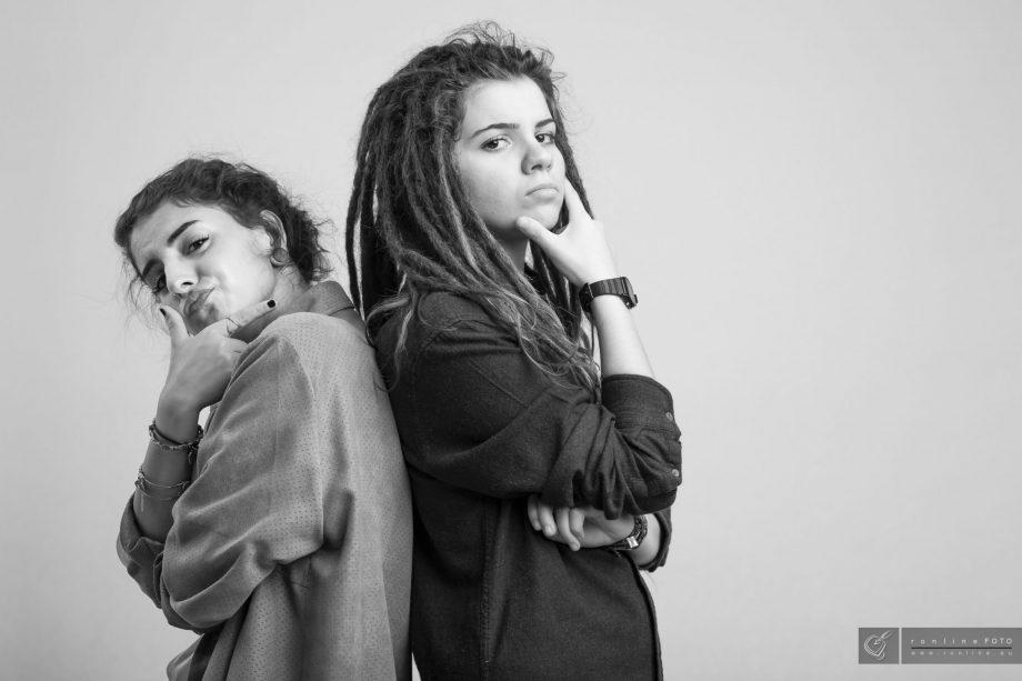 Twins - Zwillinge im Fotostudio Köln