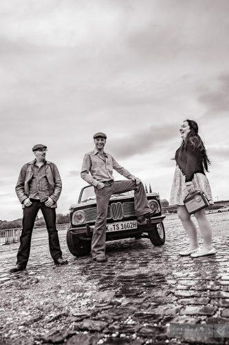 Auf Zeitreisen - Bärbel, Lothar und Klaus