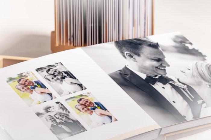 Blick ins Fotobuch von Julia und Niko